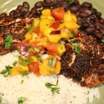 Jamaican jerk fish