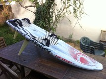 FOR SALE : Cabrinha full carbon race board 183×59 – $450
