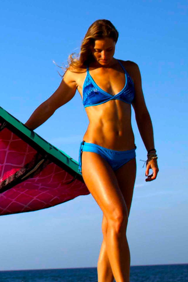 Surf Wallpaper Iphone X Download Kite Chick Wallpaper Melissa Gil With The