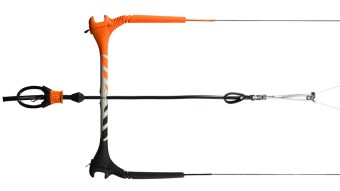 Cabrinha 1X overdrive with trimlite bar kitesurfing equipment kitesurfing news kiteworld magazine