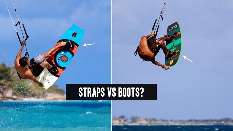 Straps Vs Boots Kiteworld Magazine The Original