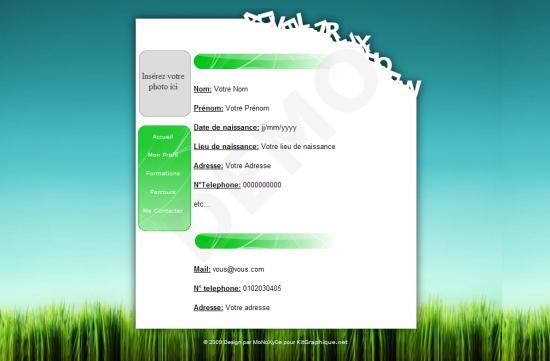 liste des competences cv espace vert