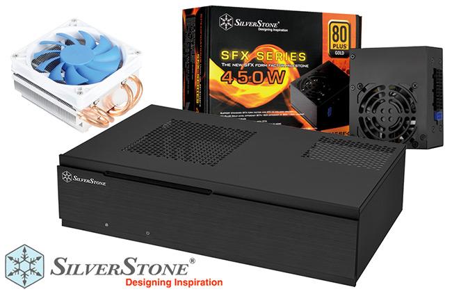 Win Silverstone Mini-ITX Chassis, PSU and Cooling! KitGuru