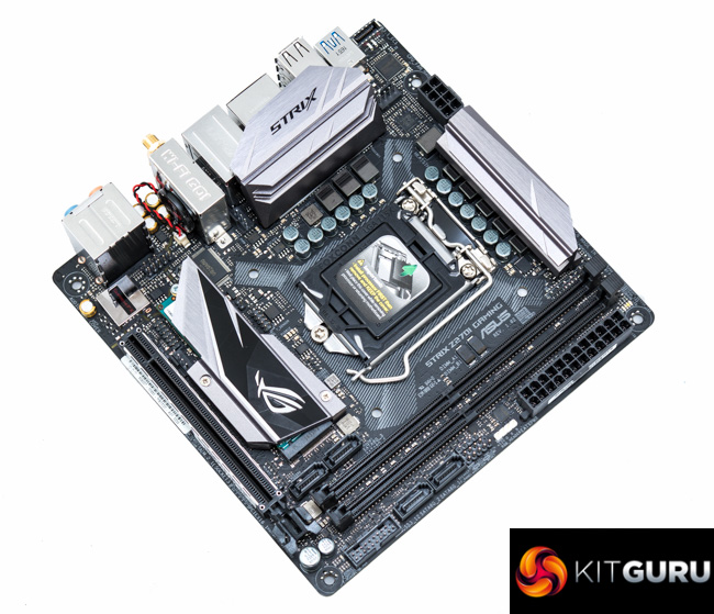 ASUS ROG Strix Z270i Gaming Motherboard Review KitGuru