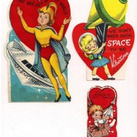 Be My Vintage Space-Age Valentine