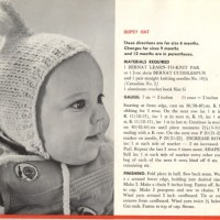 Craft Scan Friday: Dopey Baby Hat