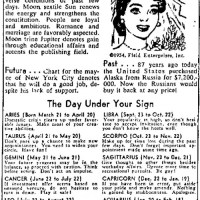 Mayor Wagner, Your Horoscope For March 30, 1954