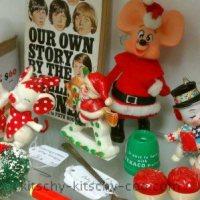 Kitschy Christmas Ornaments