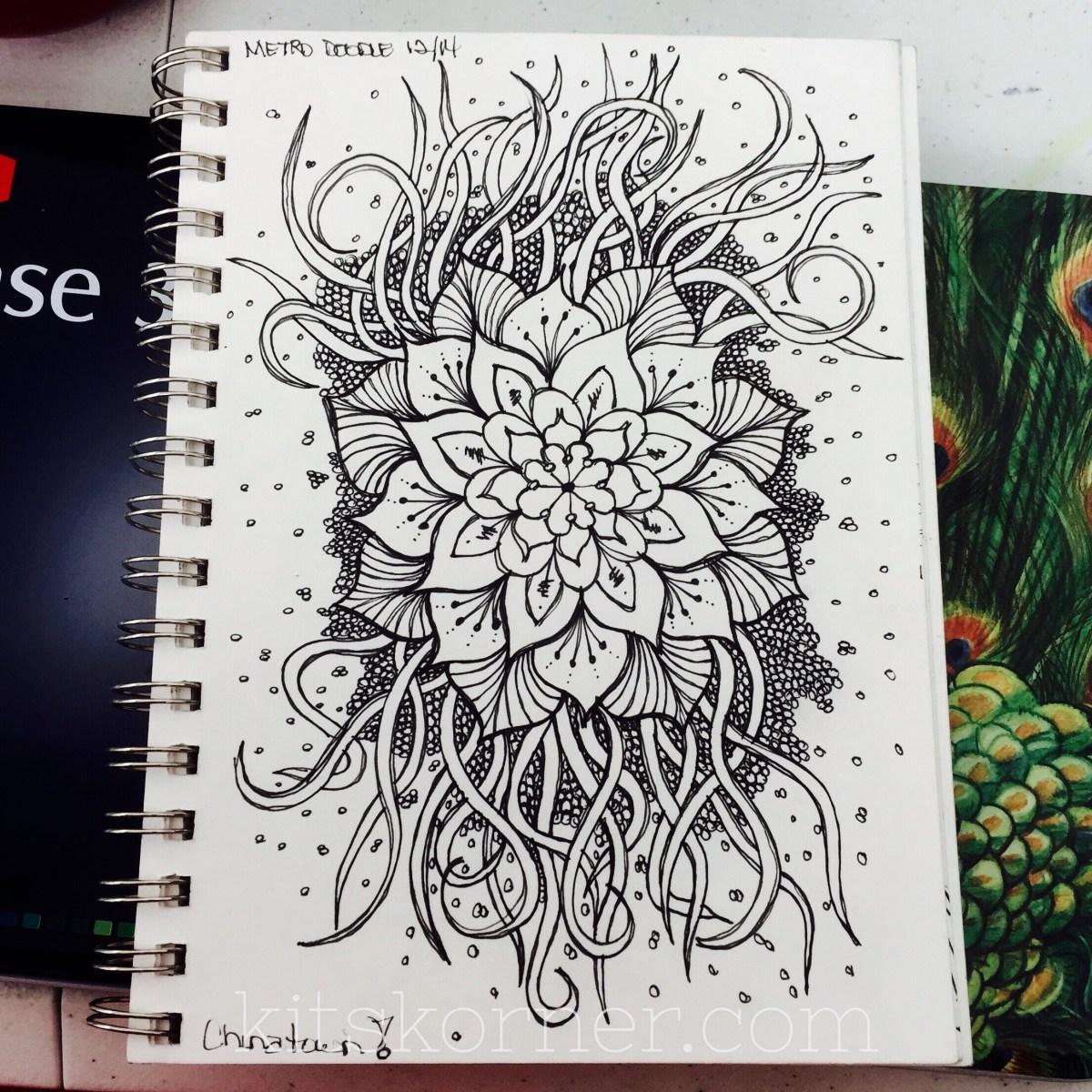 sketchbook   metro doodles