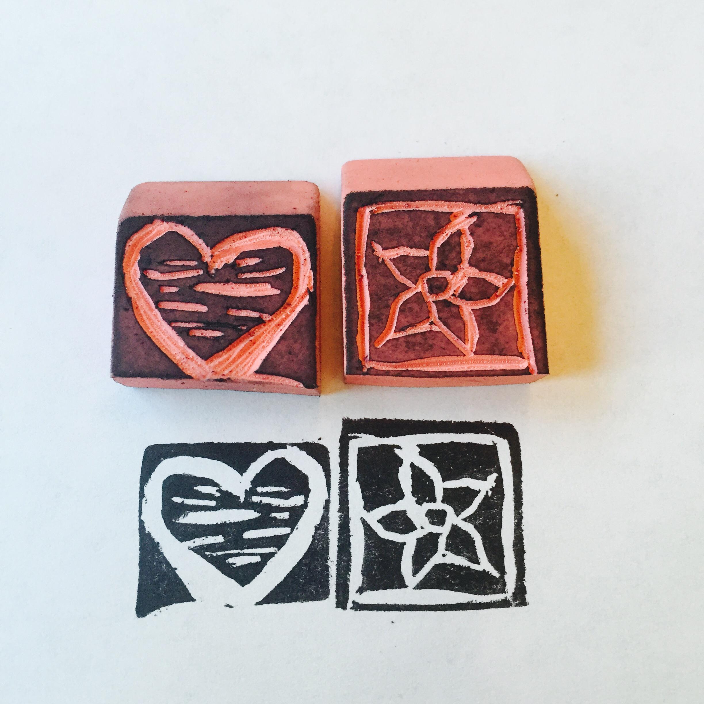 Adventures in stamp carving kitskorner