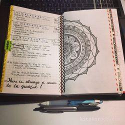 Sep 23 – Sep 25 Daily-Weekly Spread in my Mandala
