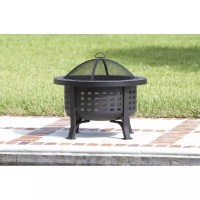 Fire Sense Alpina Round Slate Top Fire Pit (62240)