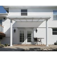 Palram 10x10 Gala Patio Cover Kit - White (HG9370)