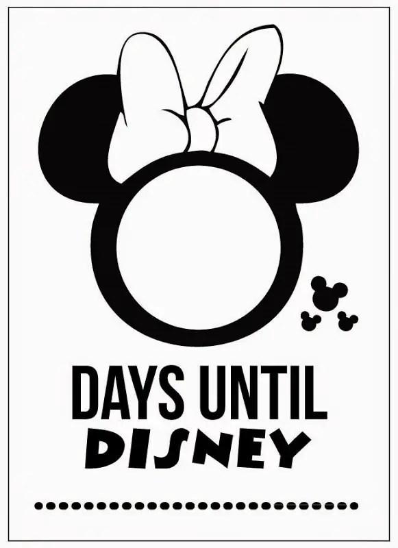 10 Fun Printable Disney Countdown Calendars Kitty Baby Love