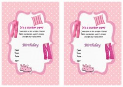 Small Of Slumber Party Invitations