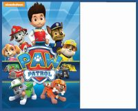 8 Pawsome Paw Patrol Birthday Invitations | Kitty Baby Love