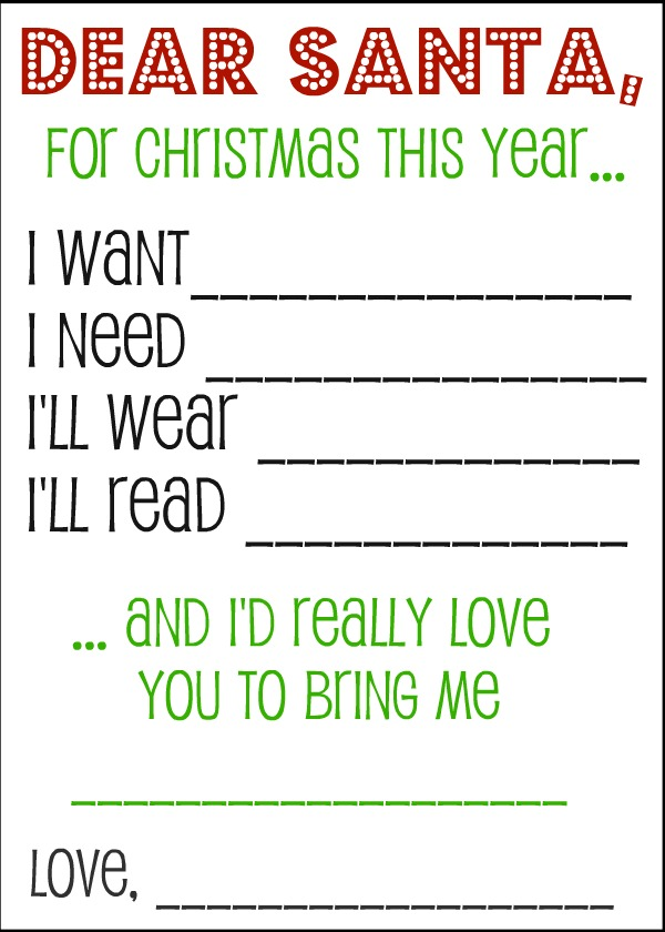 48 Christmas Wish Lists KittyBabyLove