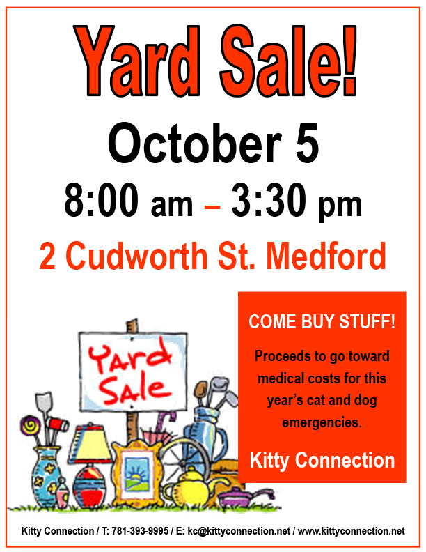Yard Sale Flyer