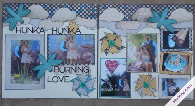 Hunka Hunka Burning Love Layout