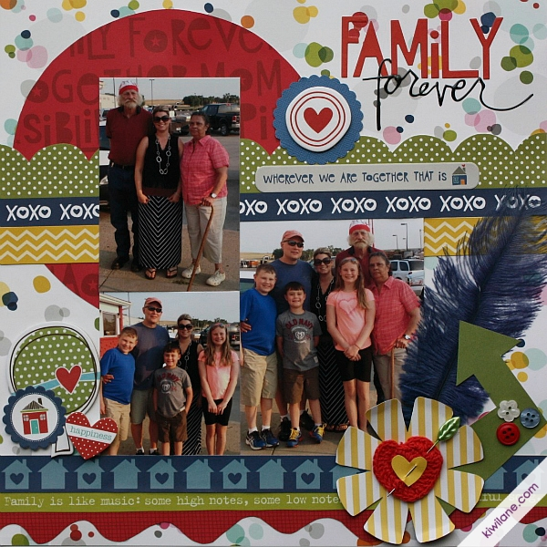 Family Forever Layout
