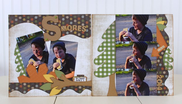 S'mores 2-page layout