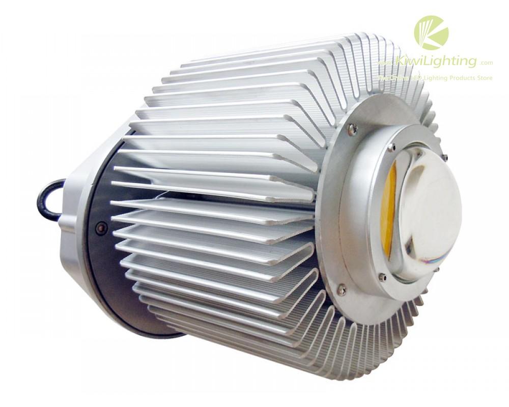 Cylindrical Aluminium 200w High Power Led Lens Heatsink