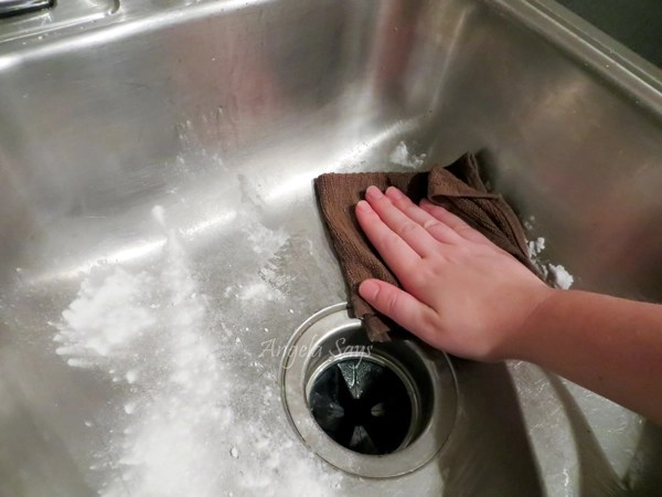 The Secret To Cleaning Stainless Steel Sinks Angela