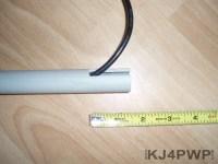 PVC Antenna Mast - KJ4PWP