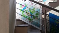 Glass Paintings | Handrails | Window Glass Paintings ...