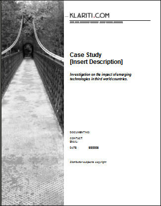 Using Case Studies For Strategic Advantage - Case Analysis