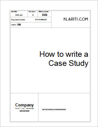 Trade Show Case Studies Case Study Template