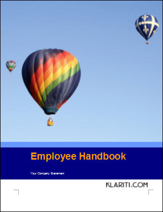 Employee Handbook Writing Tips - sample employee manual template