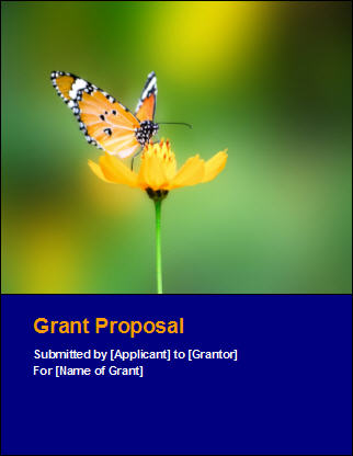 Grant Proposal Template Software Software Templates - free cover sheet template