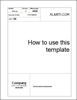 proposal cover page template - how to template