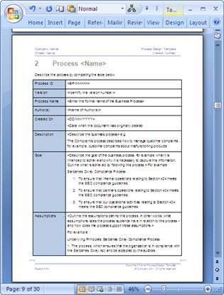 business process template word - Ozilalmanoof - microsoft word standard operating procedure template