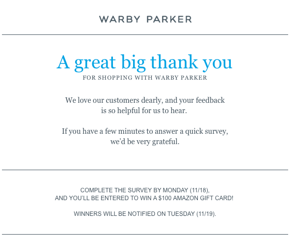 thank you letter for purchase