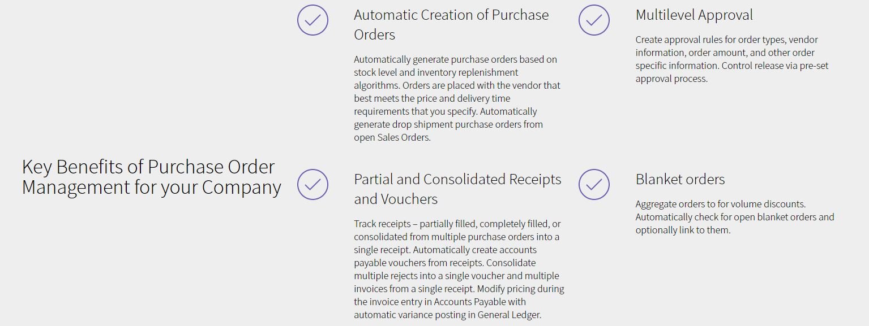 Purchase Order Module - Distribution Management - Acumatica Cloud ERP