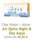 Kontaktlinsen Auswahl
