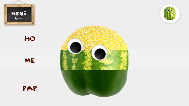 Fruchtschieber mit Fotofunktion