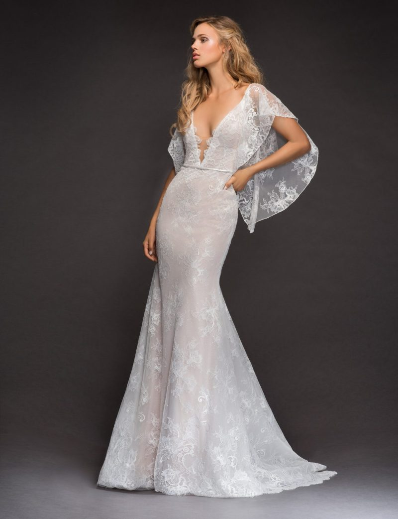 Large Of Lace Wedding Dress With Sleeves