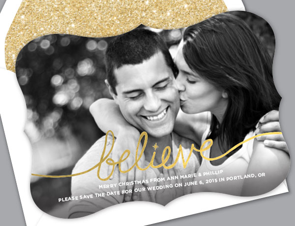 Alterations Save-the-Date Holiday Cards