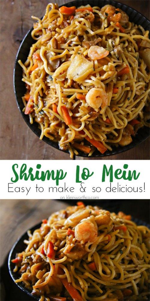 Medium Of Shrimp Lo Mein