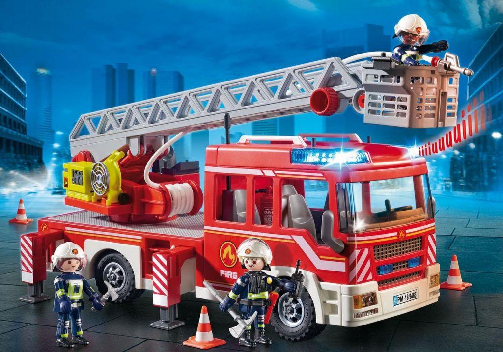 Playmobil Set 9463 Fire Ladder Truck Klickypedia