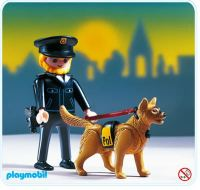 Playmobil Set: 3985 - K-9 - Klickypedia