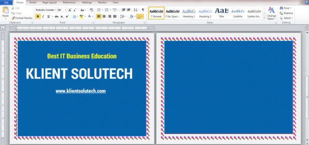 List of Microsoft Word Exercises for Students - KLIENT SOLUTECH