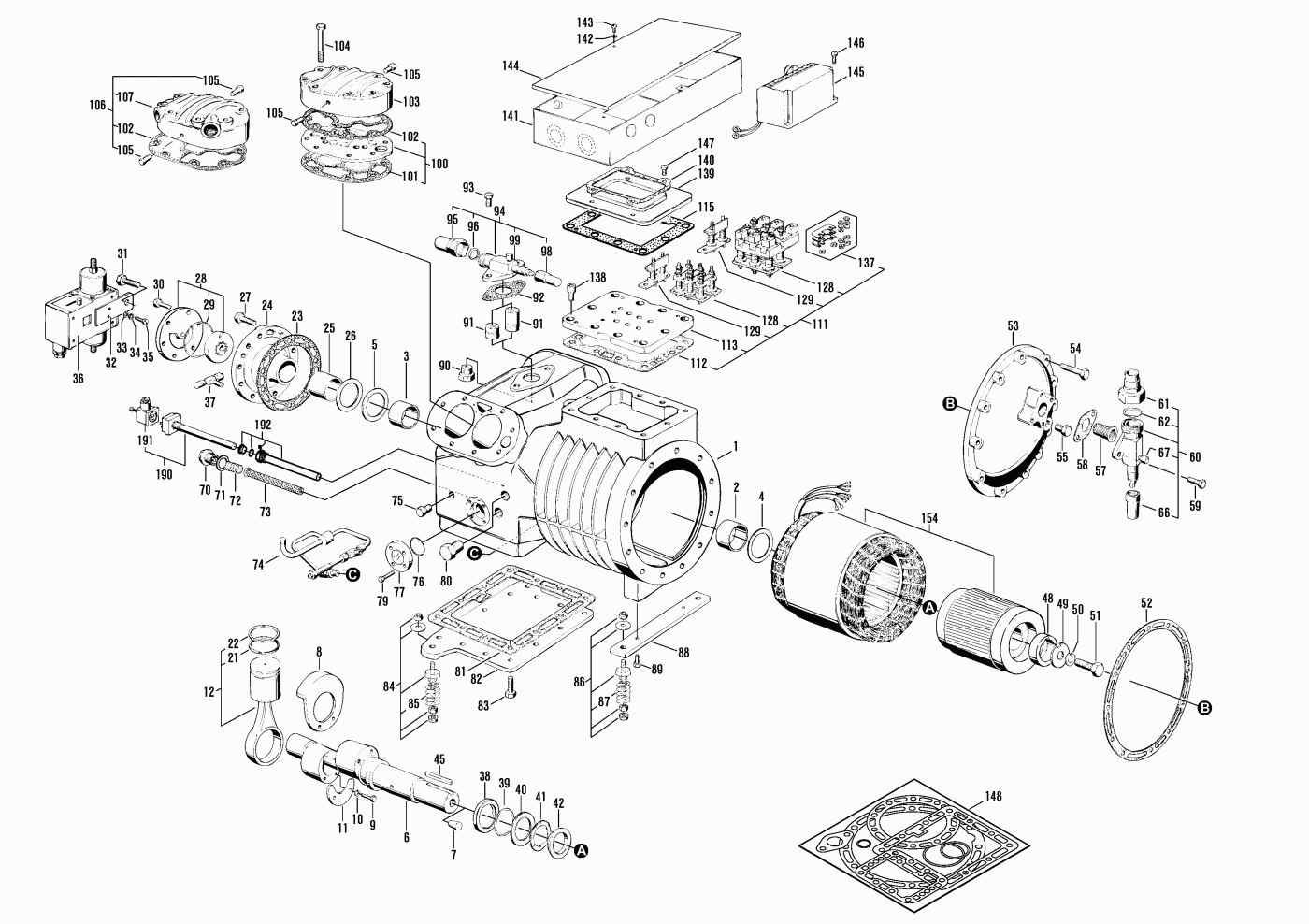 wiring diagrams for bristol compressors