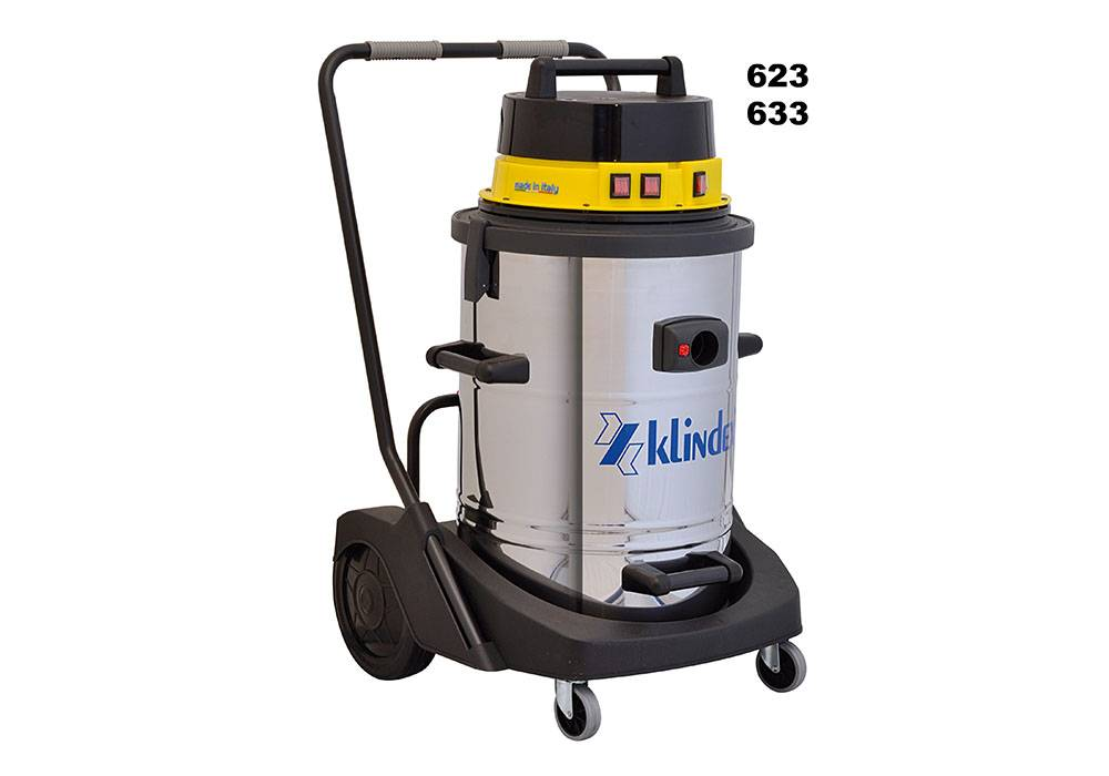 Junior_623_inox industrial vacuum
