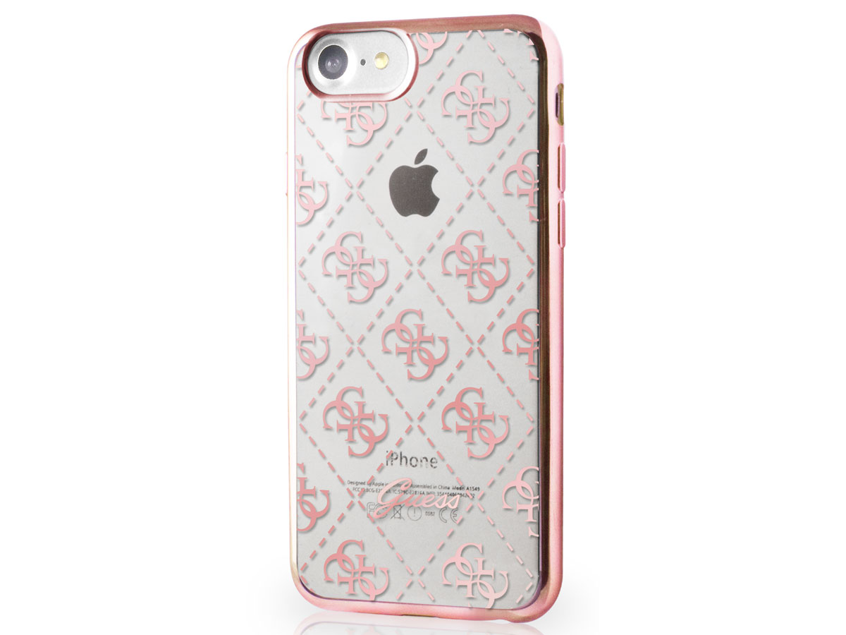 Guess Monogram Tpu Case Iphone 8 7 Hoesje