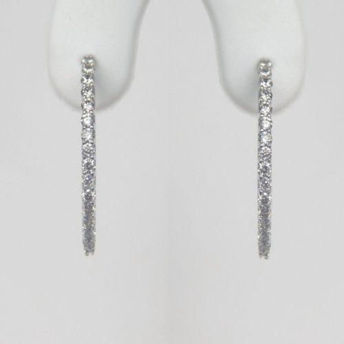 Cheerful G Diamond Hoop Earrings Diamond Hoop Earrings Kloiber Jewelers Diamond Hoop Earrings Walmart Diamond Hoop Earrings Thin