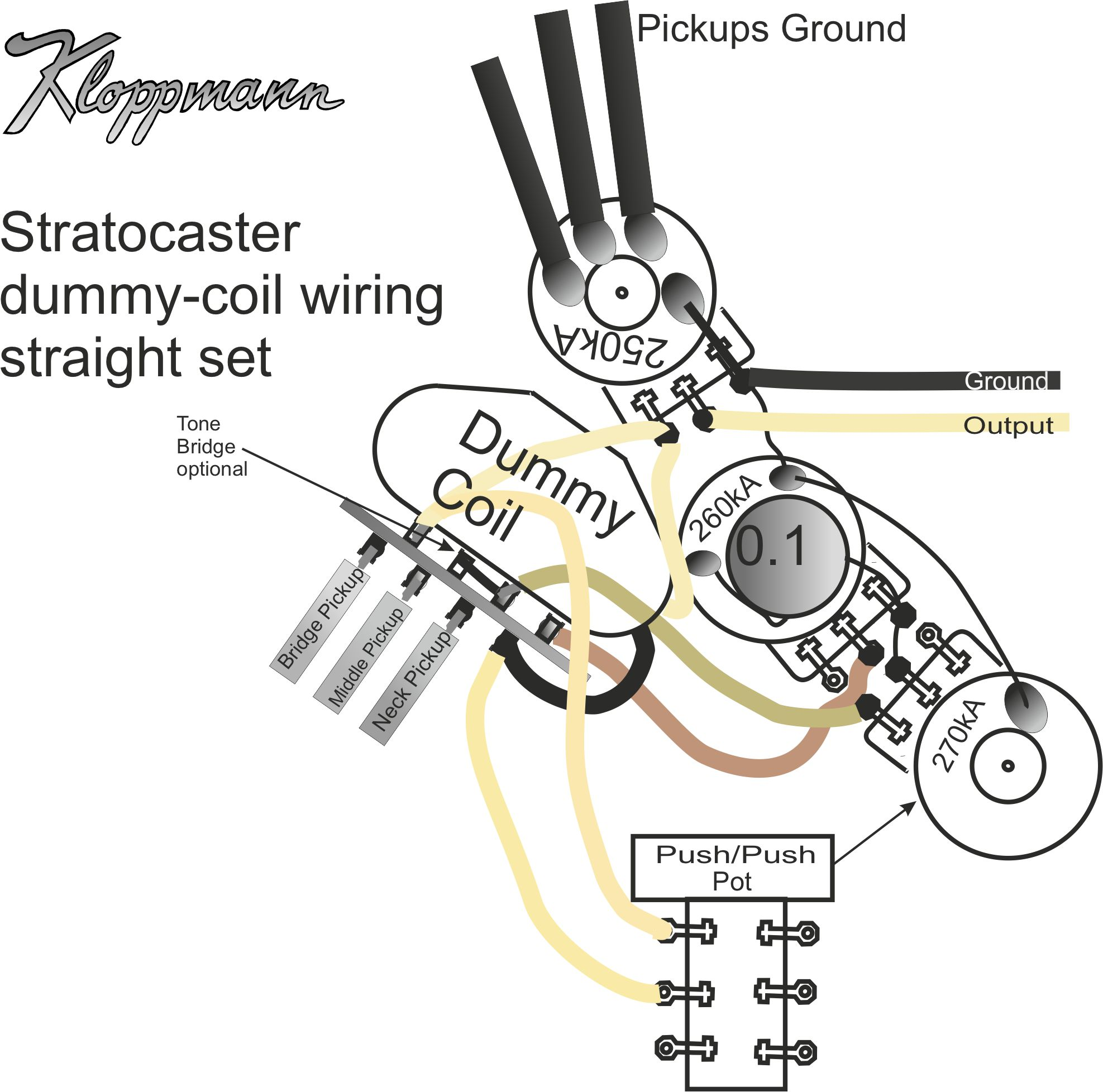 telecaster with dummy coil wiring diagram